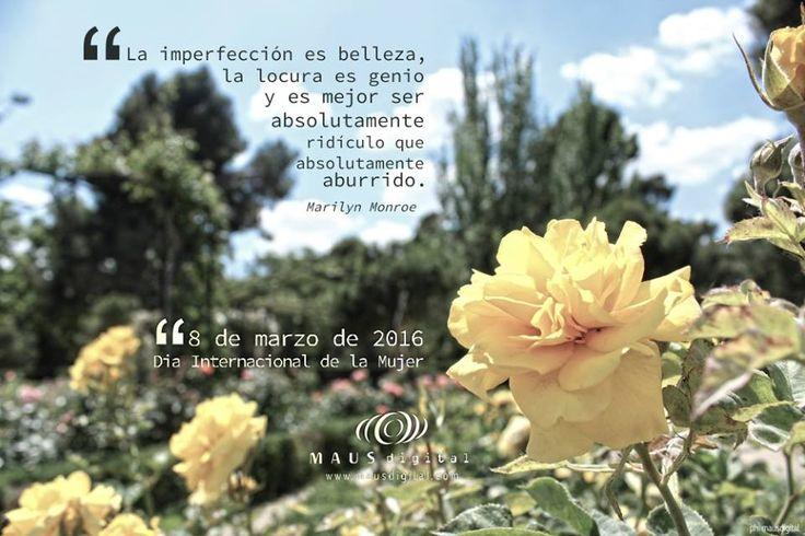 #DíaInternacionalDeLaMujer #MarilynMonroeFrases