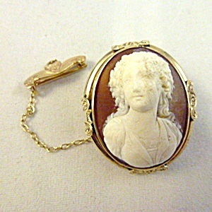 159 best vintage cameo jewelry images on pinterest conditioner antique victorian cameo brooch gold mounted mozeypictures Choice Image