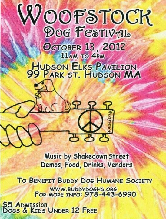 Fundraiser for Buddy Dogs Humane Society. Oct 13, 2012 in Hudson, MA