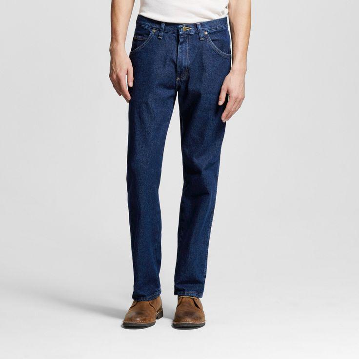 Wrangler Big & Tall Men's 5-Star Regular Fit Jeans Lite Blue 44x34, Midnight Blue