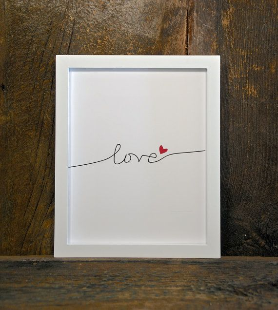 LOVE nursery instant download wall art by MountainViewPrints