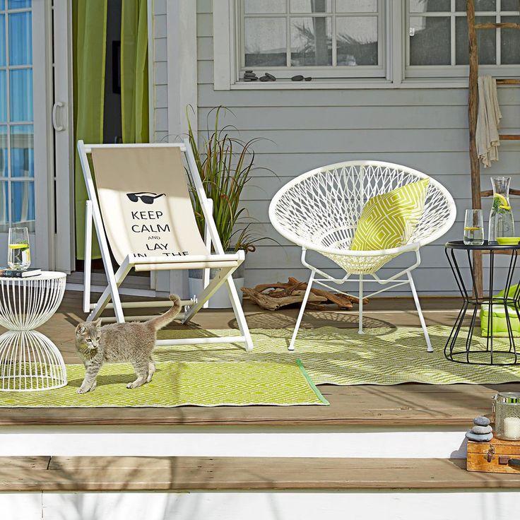 17 beste ideer om Balkongarnitur på Pinterest Sonnenliege ikea - gartenliege klappbar aldi