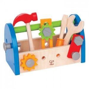 caja de herramientas de madera de juguete para niños                                                                                                                                                      Más