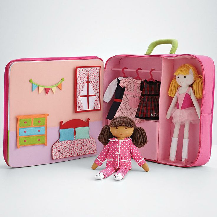 117 best rag doll images on pinterest rag dolls softies and rag doll suitcase from redenvelope little girl giftscute little girlspersonalized baby negle Gallery