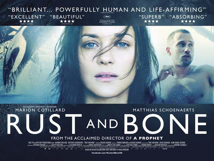 Film News: New Quad Poster for Rust and Bone
