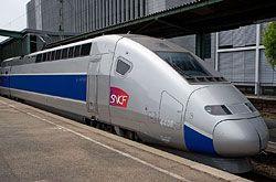 TGV-Est in Stuttgart Hbf