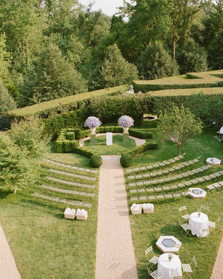 A fanciful setting on family property, an heirloom ball gown, and a homemade wedding cake completed the enchanting picture for this midwestern couple.