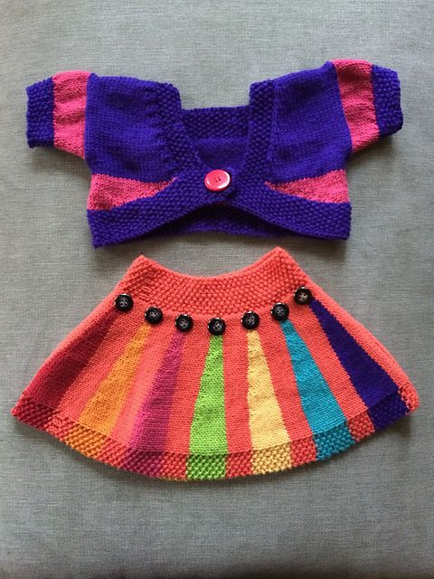 Ravelry: Bronte's Tiny Skirt pattern by Jane Terzza