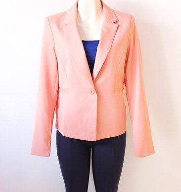 lindo y #elegante #blazer  #palo de #rosa para tu día de trabajo