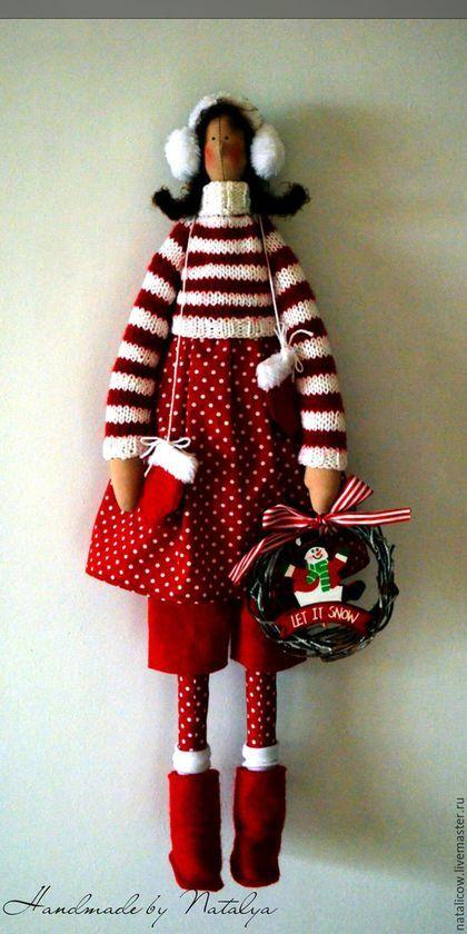 Куклы Тильды ручной работы. Новогодняя Тильда.. handmade by Natalia…