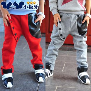 2013 autumn korean version of the new autumn childrens clothing childrens baby boy fight skin buckle casual pants long trousers 6807 only $9.92USD a Piece