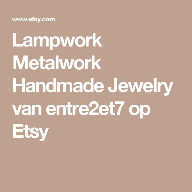 Lampwork Metalwork Handmade Jewelry van entre2et7 op Etsy