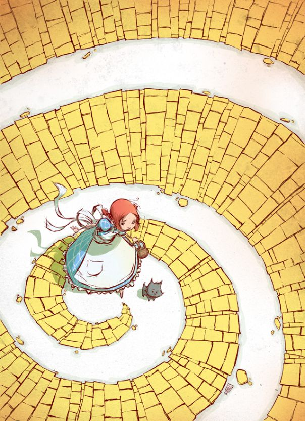 dorothy_yellow_brick_road_by_skottieyoung-d50x8gx