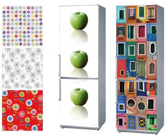 Il existe plusieurs solutions pour relooker un réfrigérateur : la peinture, les adhésifs en vinyl ou les plaques aimantées. Petit tour d'horizon.    &nb