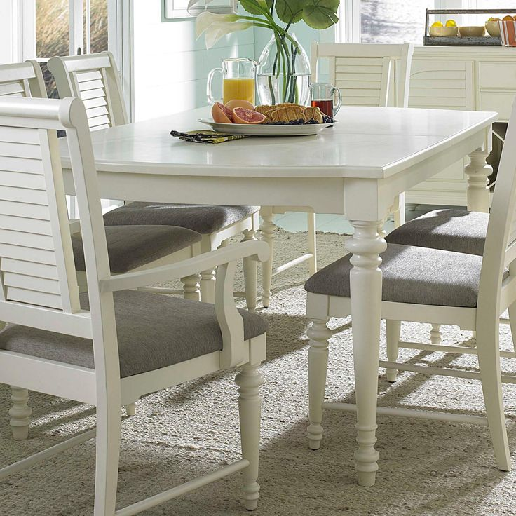 Seabrooke Leg Dining Table by Broyhill Furniture
