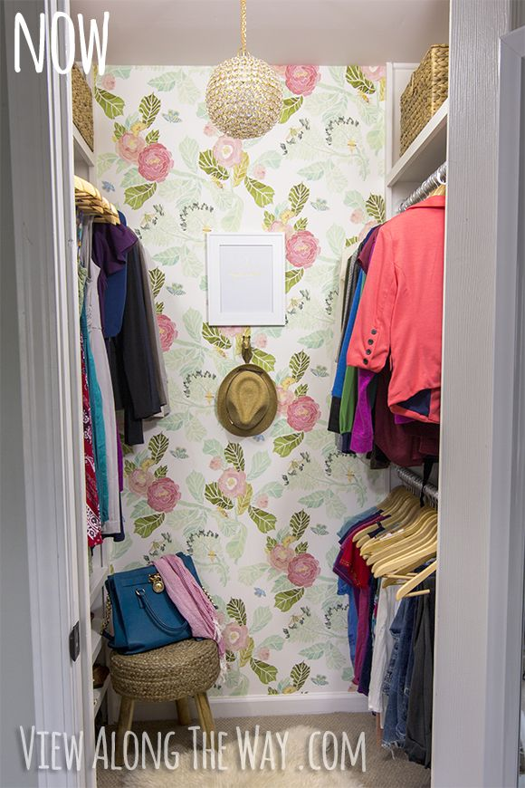 Gorgeous DIY Closet Makeover With A Million Ideas You Can Use In Your Own  Space! Beautify Your Closet On A Real Budget!