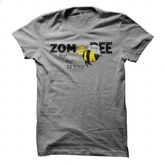 The Flying Dead: ZOM-Bee T-Shirt - cool t shirts #fashion #T-Shirts