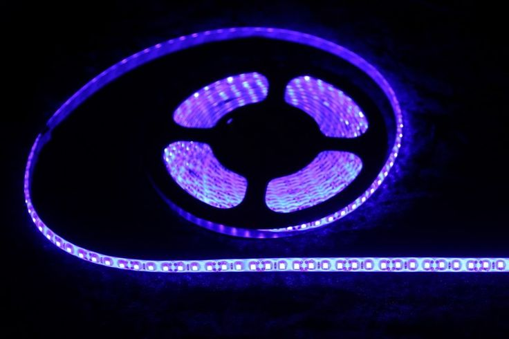 Strip Lighting LED Blue SMD3528 IP65 5 metre Roll 9.6w/m 120 LED/m A$30.80 www.ecoindustrialsupplies.com