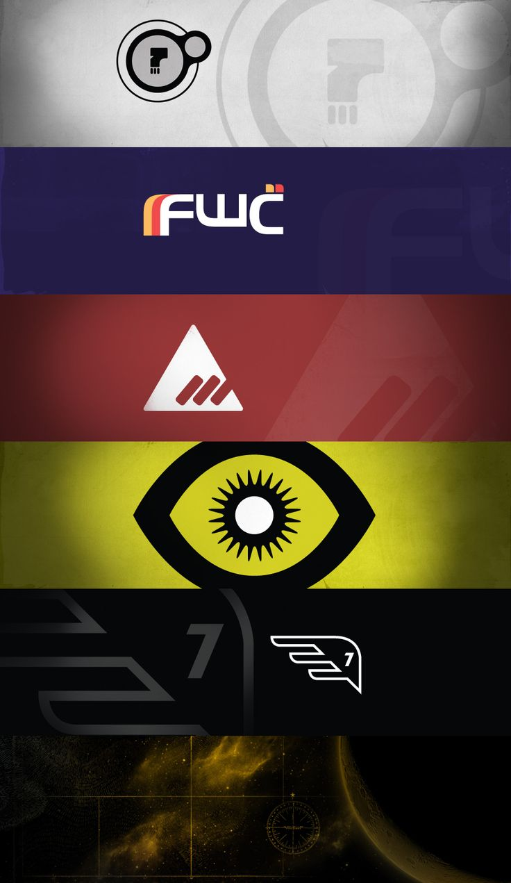 Bungies Destiny 5 Factions