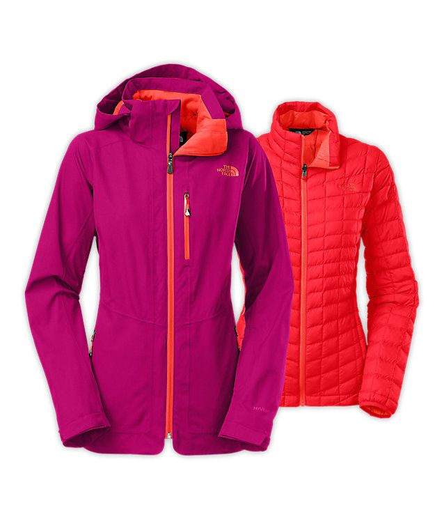 Women's thermoball™ snow triclimate® parka