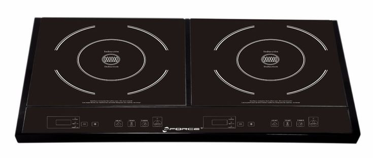The GF-P1369-854 Double Induction Stove Burner Cooktop features a unique design with 2 induction burners (1600W & 1800W Max), allowing you to heat and cook easily! To operate, plug it in, place cookware on the hot plates, press the ON button, select your Heat function ranging from 1-10, select your desired temperature ranging from 150°-450°F with  /- Keys. | eBay!