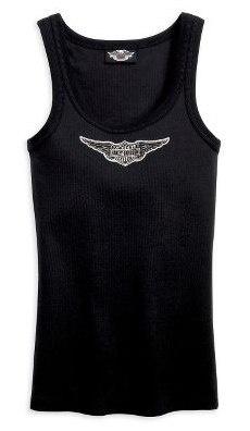 Harley Davidson Women's Classic Tank Top, black, $19.00
