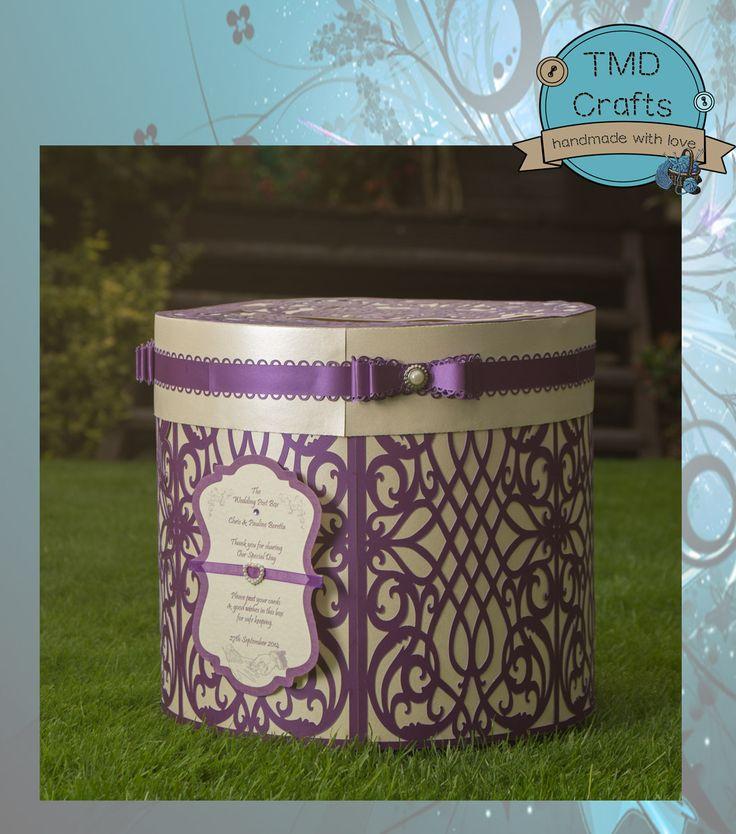 Personalised Round Wedding Post Box