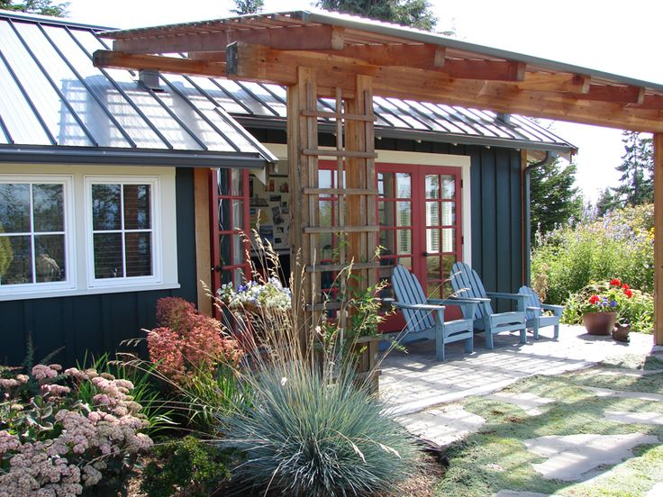 Gilann Cottage, 2 bdrm, 637 sq ft | Ross Chapin Architects