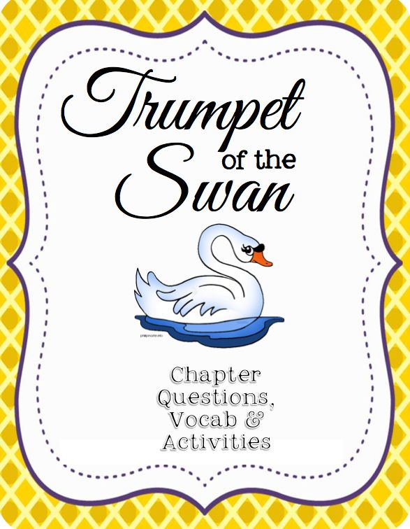 trumpet of the swan book report Synopsis: from amazoncom: although he lacks a voice in the traditional ko-hoh  sense, trumpeter swan louis learns to speak to the world.
