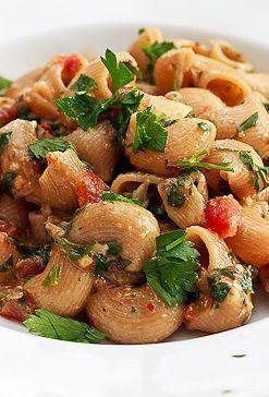 Sardine, Tomato & Parsley Pasta is a delicious seafood recipe.