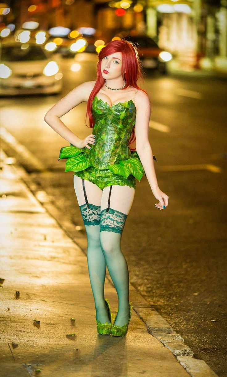 97 best poison ivy cosplay images on pinterest halloween