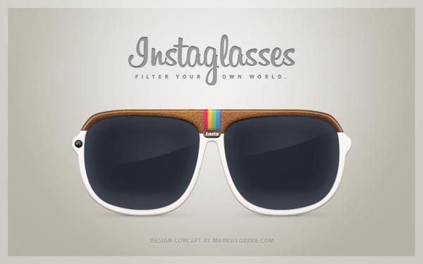"Instaglasses is an amazing Instagram inspired design concept designed by Markus Gerke from Berlin. As we can see from the images, Instaglasses looks more like a pair of sunglasses that features an Instagram icon-like frame, and most importantly, the sunglasses comes with a built-in 5.0-megapixel camera that allows you to take photos at any time via its ""Insta"" button, moreover, the integrated Instagram app lets you choose your favorite filters for your photos, and instantly upload to your In..."