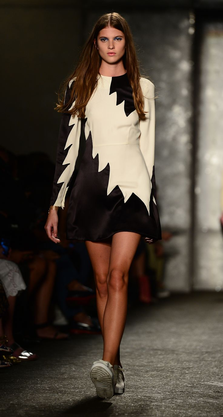 Marc by Marc Jacobs has gets zig-zaggy at NY Fashion Week 2013 (=)