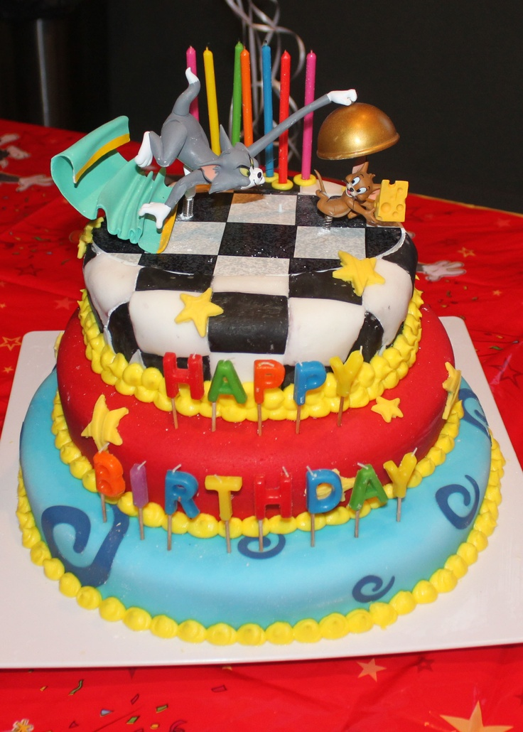 30 best Marlee Tom and jerry birthday cakes images on Pinterest