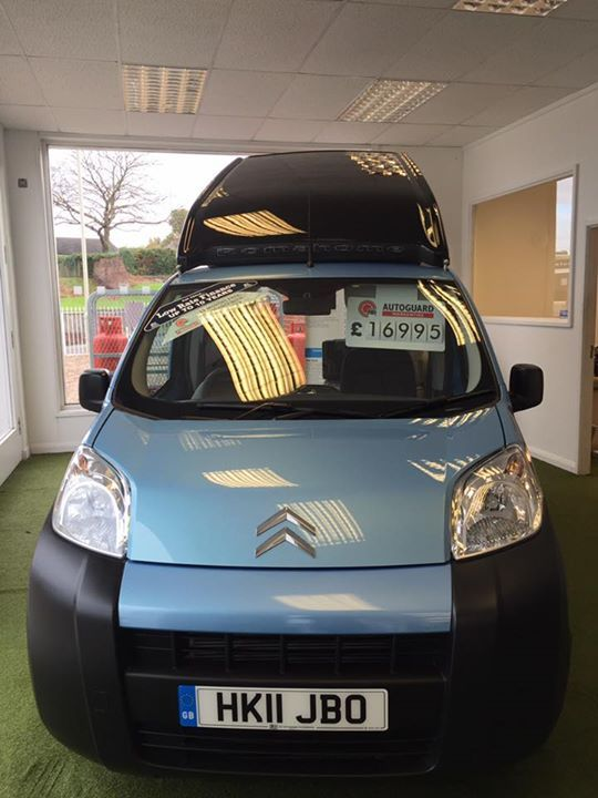 Micro campervan for sale on our @usedmotorhomesforsale in the UK