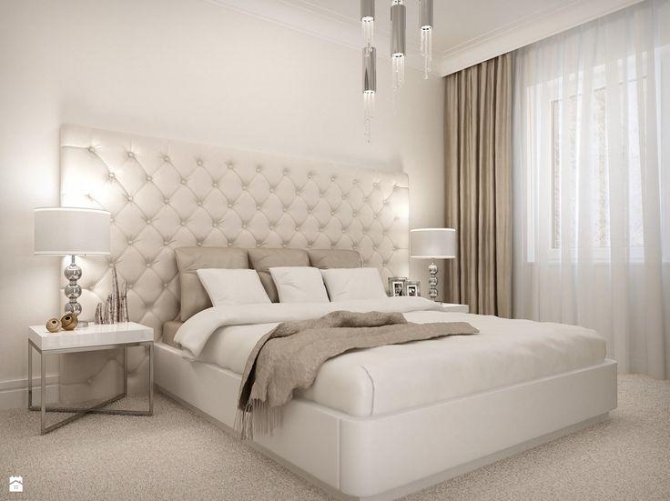 """Sypialnia """"Sweet Dream"""" - Sypialnia - Styl Glamour - wnetrza24.com"""
