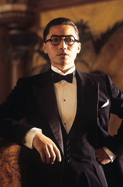 American actor John Lone wearing tails in the film The last emperor 1987