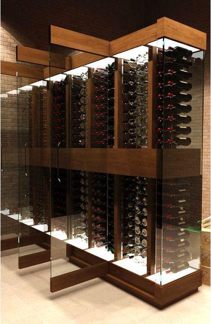 Cave a Vin Design contemporary wine cellar