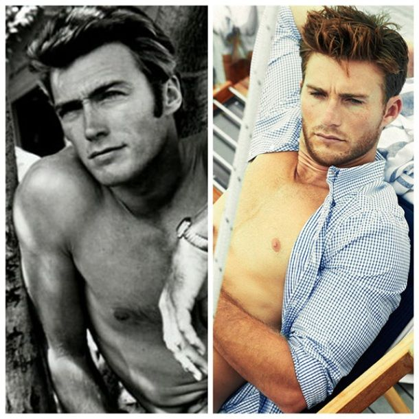 Clint Eastwood's son looks exactly like young Clint Eastwood.
