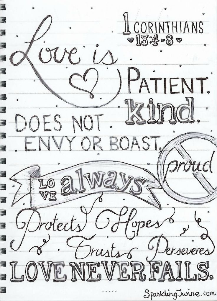 Love Is Patient Coloring Page Sparkling Twine A Blog