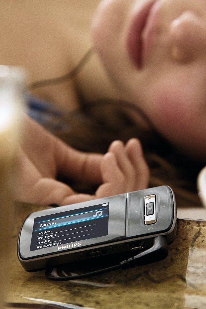 Unser Spielzeug der Woche: der MP3-Player Philips Ariaz mit Download-Gutschein. Gewinnen Sie das schicke Teil!