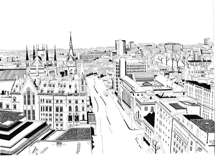 Artist Chris Dent at Illustration Division