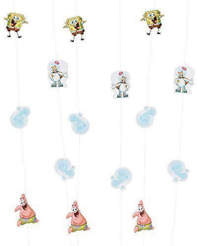 American Greetings 645416447188 SpongeBob SquarePants Hanging Party Decorations Party Supplies Nove @ niftywarehouse.com #NiftyWarehouse #Spongebob #SpongebobSquarepants #Cartoon #TV #Show