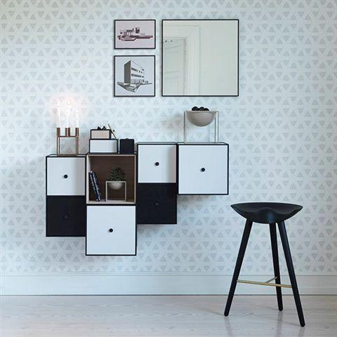 Frame 42 – Modern Scandinavian storage system – by Lassen