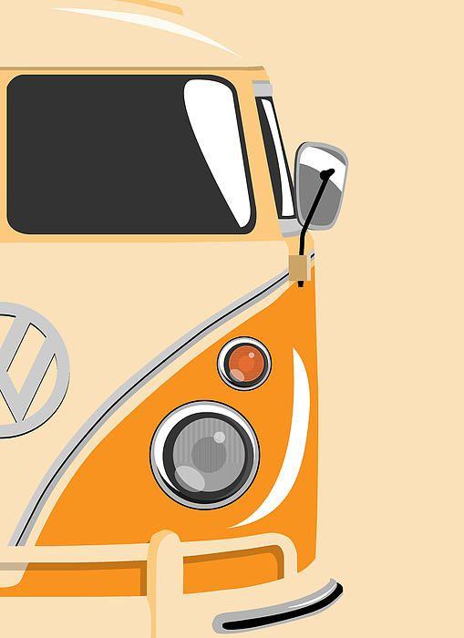 Volkswagen ... Kombi laranja