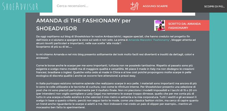 #BloggerAmbassador su #Shoe Advisor , #social #photosharing #scarpe #shoes #fashionblogger #fashionmag #fashionblog , opinioni scarpe, fashion blogger, the fashionamy blog , amanda marzol...