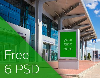 """Check out new work on my @Behance portfolio: """"Free mockups \ Airport"""" http://on.be.net/1IcqT6R"""