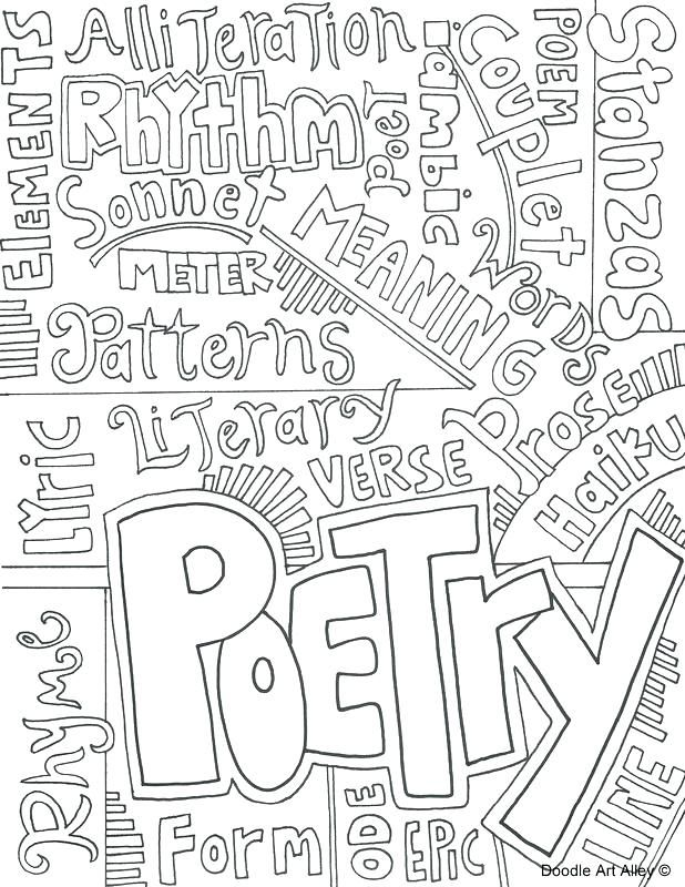 Language Arts Coloring Pages Coloring Page Coloring Page Science