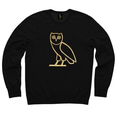 October's Very Own Original Owl Ovo Core Collection Sweater