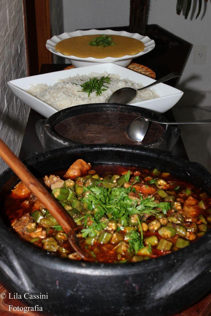 comida mineira - Frango com Quiabo - Delícia!!!